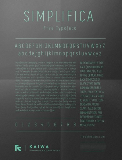 free-fonts-2014-simplifica