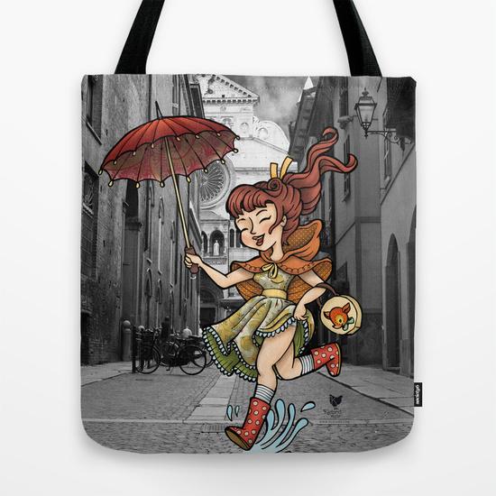 totebag kleland ombrello