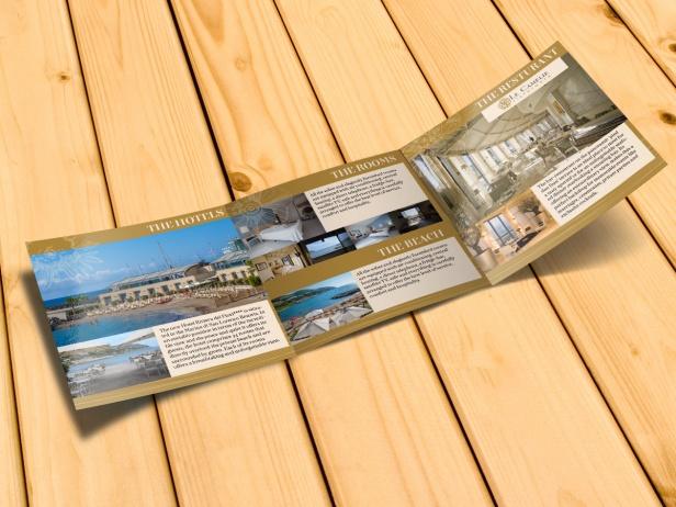 interno brochure Hotel Riviera dei Fiori